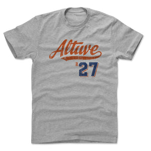 Jose Altuve Men's Cotton T-Shirt | 500 LEVEL