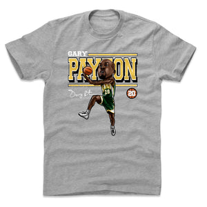 Gary Payton Men's Cotton T-Shirt | 500 LEVEL