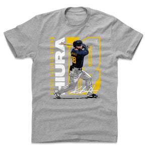 Keston Hiura Men's Cotton T-Shirt | 500 LEVEL