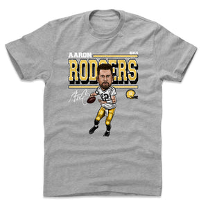 Aaron Rodgers Men's Cotton T-Shirt | 500 LEVEL