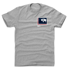 Wyoming Men's Cotton T-Shirt | 500 LEVEL