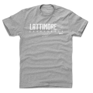 Marshon Lattimore Men's Cotton T-Shirt | 500 LEVEL