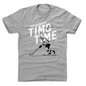 Timo Meier Men's Cotton T-Shirt | 500 LEVEL
