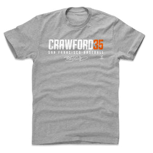 Brandon Crawford Men's Cotton T-Shirt | 500 LEVEL