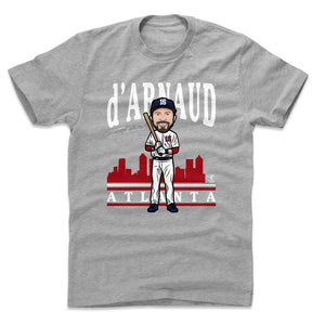 Travis d'Arnaud Men's Cotton T-Shirt | 500 LEVEL