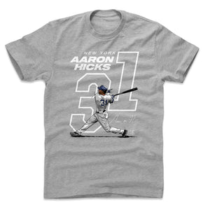 Aaron Hicks Men's Cotton T-Shirt | 500 LEVEL