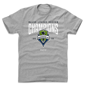 Seattle Sounders FC 2019 Champions Men's Cotton T-Shirt | 500 LEVEL