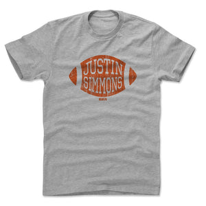 Justin Simmons Men's Cotton T-Shirt | 500 LEVEL