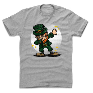 St. Patrick's Day Leprechaun Men's Cotton T-Shirt | 500 LEVEL
