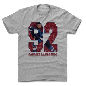 Gabriel Landeskog Men's Cotton T-Shirt | 500 LEVEL
