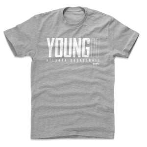 Trae Young Men's Cotton T-Shirt | 500 LEVEL