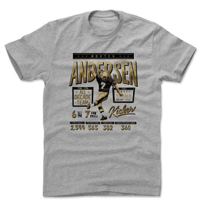 Morten Andersen Men's Cotton T-Shirt | 500 LEVEL