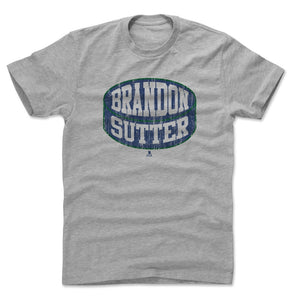 Brandon Sutter Men's Cotton T-Shirt | 500 LEVEL