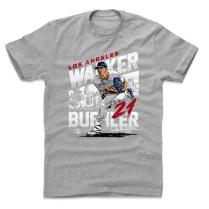Walker Buehler Men's Cotton T-Shirt | 500 LEVEL
