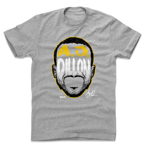 A.J. Dillon Men's Cotton T-Shirt | 500 LEVEL
