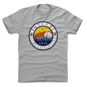 Illinois Men's Cotton T-Shirt | 500 LEVEL