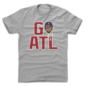 Ozzie Albies Men's Cotton T-Shirt | 500 LEVEL