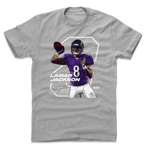 brand new ea238 84afd Lamar Jackson T-Shirts & Hoodies | Baltimore Football | 500 ...