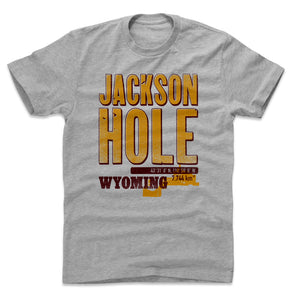 Jackson Hole Men's Cotton T-Shirt | 500 LEVEL