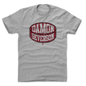 Damon Severson Men's Cotton T-Shirt | 500 LEVEL