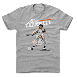 Alan Trammell Men's Cotton T-Shirt | 500 LEVEL