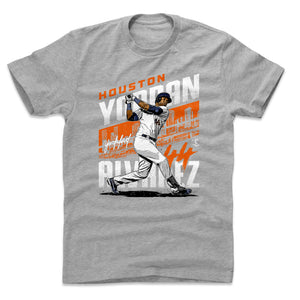 Yordan Alvarez Men's Cotton T-Shirt | 500 LEVEL