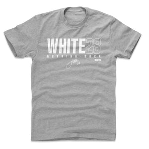 James White Men's Cotton T-Shirt | 500 LEVEL