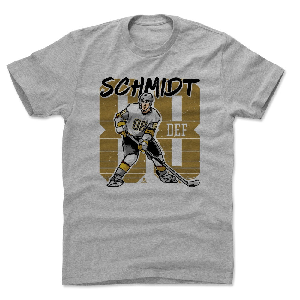 Nate Schmidt Men's Cotton T-Shirt | 500 LEVEL