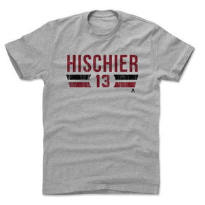 Nico Hischier Men's Cotton T-Shirt | 500 LEVEL