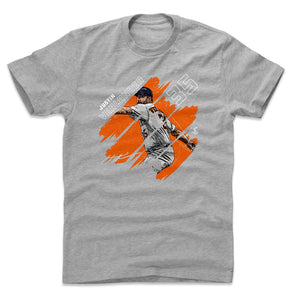 Justin Verlander Men's Cotton T-Shirt | 500 LEVEL
