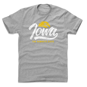 Iowa Men's Cotton T-Shirt | 500 LEVEL