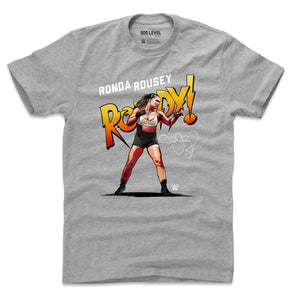 Ronda Rousey Men's Cotton T-Shirt | 500 LEVEL