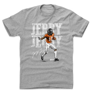 Jerry Jeudy Men's Cotton T-Shirt | 500 LEVEL