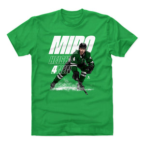 Miro Heiskanen Men's Cotton T-Shirt | 500 LEVEL