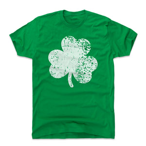 St. Patrick's Day Shamrock Men's Cotton T-Shirt | 500 LEVEL