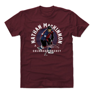 Nathan MacKinnon Men's Cotton T-Shirt | 500 LEVEL