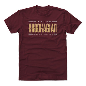 Katlyn Chookagian Men's Cotton T-Shirt | 500 LEVEL