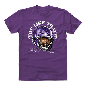 Kirk Cousins Men's Cotton T-Shirt | 500 LEVEL