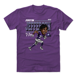 Justin Jefferson Men's Cotton T-Shirt | 500 LEVEL