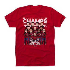Alex Ovechkin Men's Cotton T-Shirt | 500 LEVEL