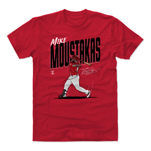 Mike Moustakas Men's Cotton T-Shirt | 500 LEVEL