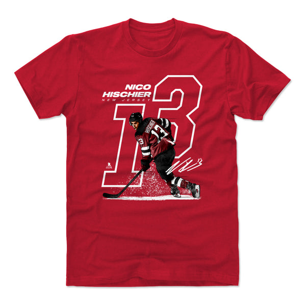 low priced 53cce 90b02 Nico Hischier T-Shirts & Hoodies | New Jersey Hockey | 500 ...