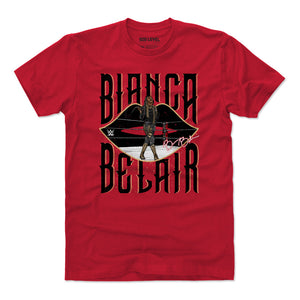 Bianca Belair Men's Cotton T-Shirt | 500 LEVEL