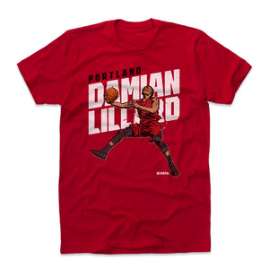 Damian Lillard Men's Cotton T-Shirt | 500 LEVEL