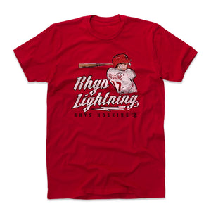 Rhys Hoskins Men's Cotton T-Shirt | 500 LEVEL