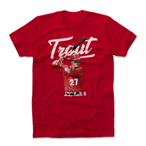 Mike Trout Men's Cotton T-Shirt | 500 LEVEL