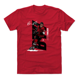 Brady Tkachuk Men's Cotton T-Shirt | 500 LEVEL