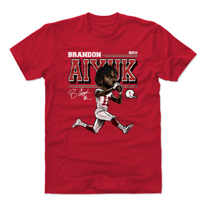 Brandon Aiyuk Men's Cotton T-Shirt | 500 LEVEL