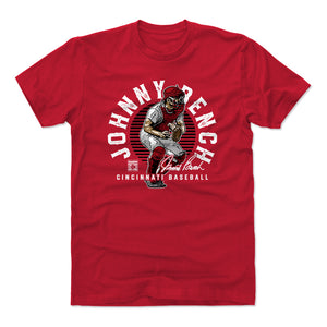 Johnny Bench Men's Cotton T-Shirt | 500 LEVEL