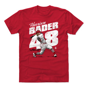 Harrison Bader Men's Cotton T-Shirt | 500 LEVEL
